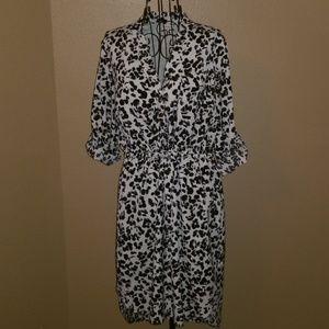 Merona High Low dress